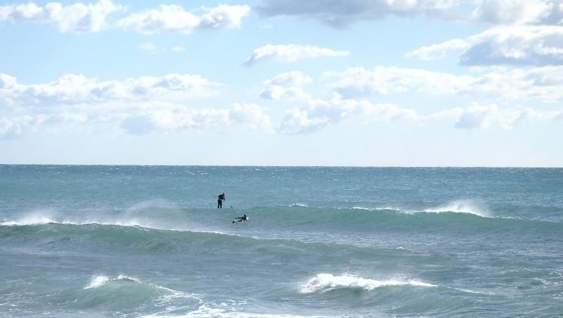 Surf report Sausset-les-Pins - L'Hermitage - France (13) 2014-03-01 14:45:00