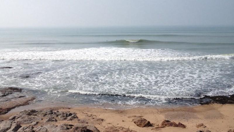 Surf report La Sauzaie - France (85) 2014-03-12 14:00:00