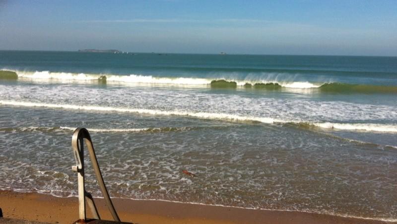 Surf report Saint-Malo - Plage Rochebonne - France (35) 2014-03-18 19:59:00