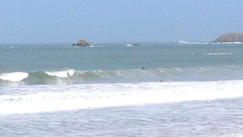 Surf report Saint-Malo - Le Sillon - France (35) 2014-03-25 12:00:00