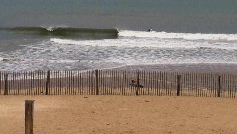 Surf report Montalivet - France (33) 2014-04-23 11:00:00
