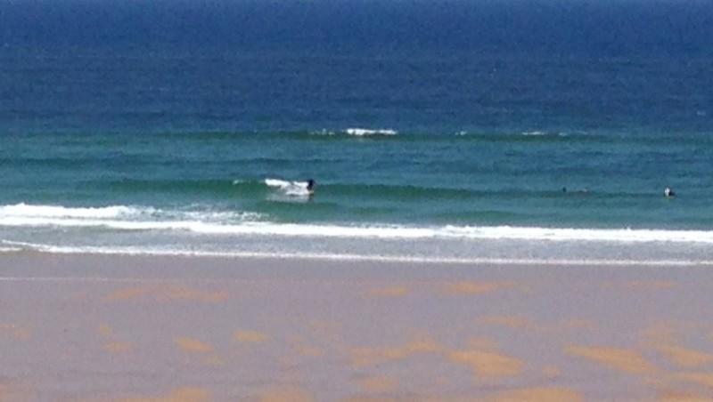 Surf report Mimizan - Plage Garluche - France (40) 2014-06-01 12:00:00