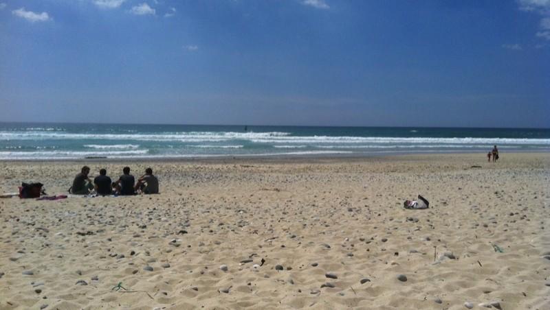 Surf report Tronoën - France (29) 2014-06-14 16:05:00