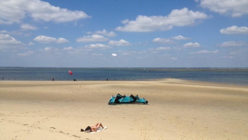 Surf report Arcachon - Plage d'Eyrac - France (33) 2014-06-17 16:11:00