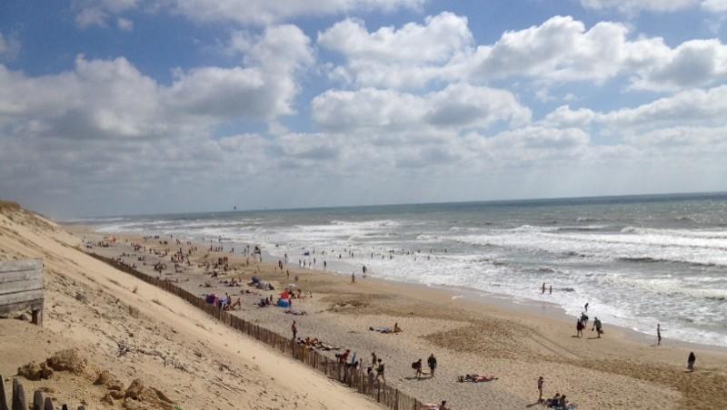 Surf report Hourtin Océan - Plage Sud - France (33) 2014-07-10 17:33:00