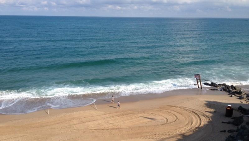 Surf report Côte des Basques - France (64) 2014-08-03 09:50:00