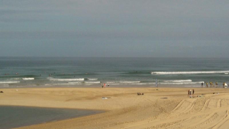 Surf report Vieux Boucau - France (40) 2014-08-06 09:00:00