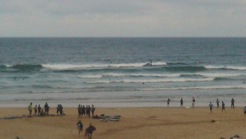 Surf report Vieux Boucau - France (40) 2014-08-07 10:00:00