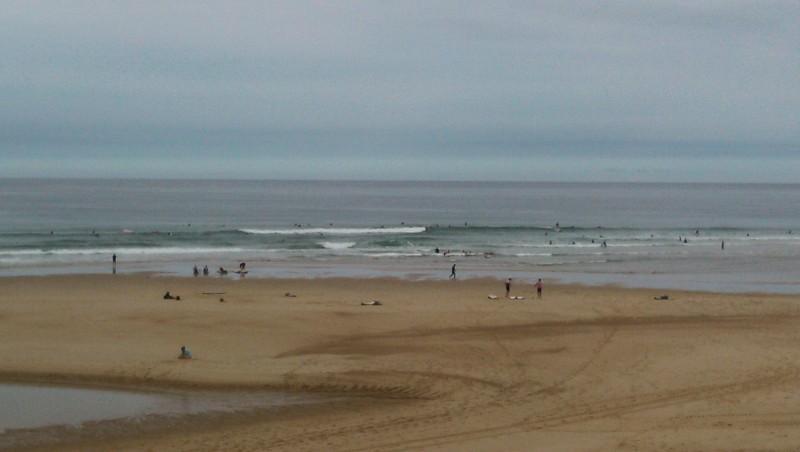 Surf report Vieux Boucau - France (40) 2014-08-08 09:45:00