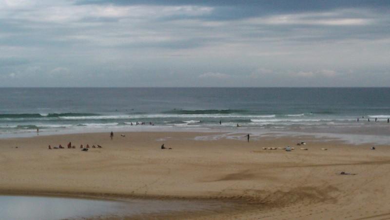 Surf report Vieux Boucau - France (40) 2014-08-09 09:40:00