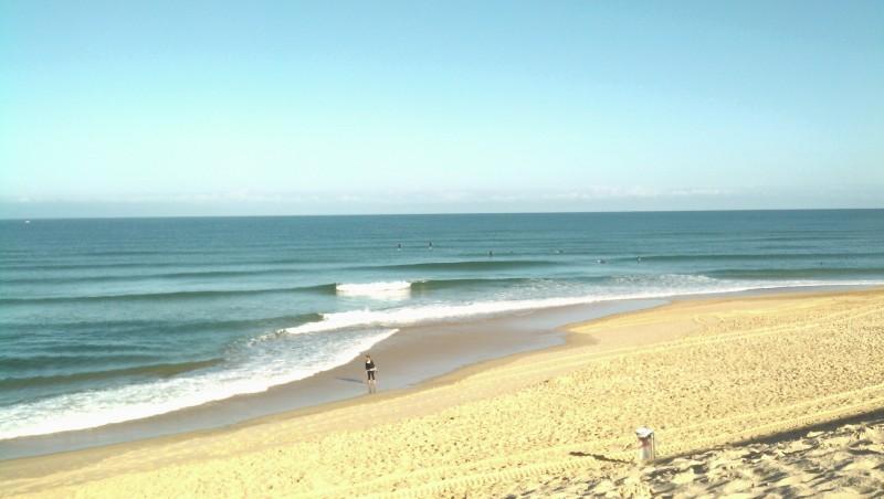 Surf report Vieux Boucau - France (40) 2014-08-17 09:30:00