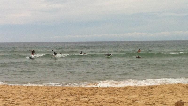 Surf report Lacanau Océan - La Nord - France (33) 2014-08-24 14:58:00