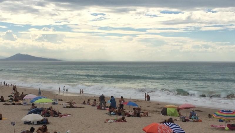 Surf report Milady - France (64) 2014-09-17 16:27:00