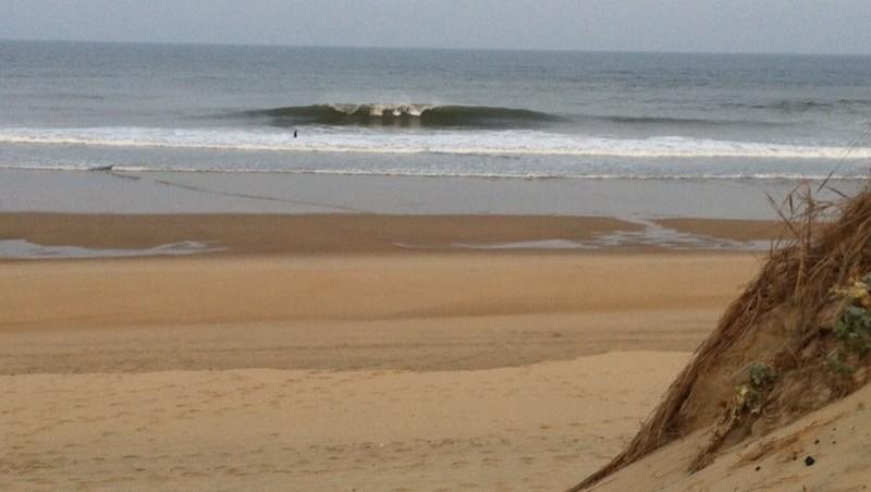 Surf report Côte Sauvage - Le 27 - France (17) 2014-09-24 10:00:00
