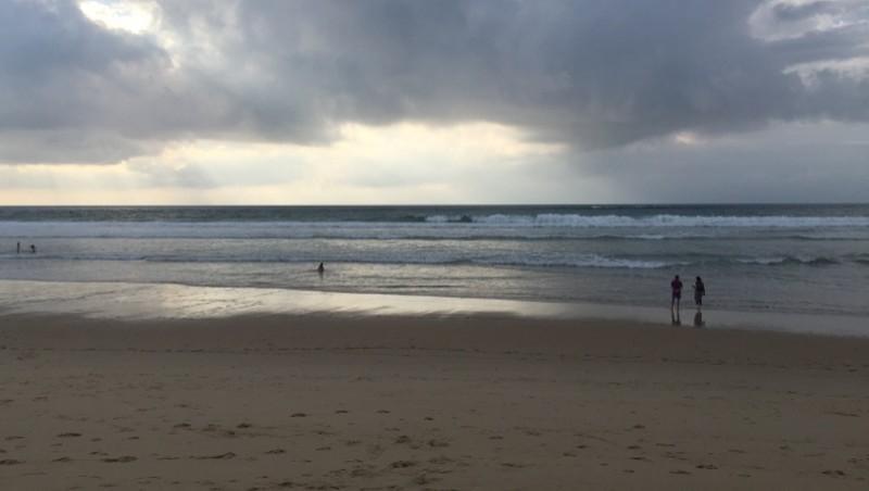 Surf report Cap-Ferret - Plage de L'Horizon - France (33) 2014-10-04 18:00:00