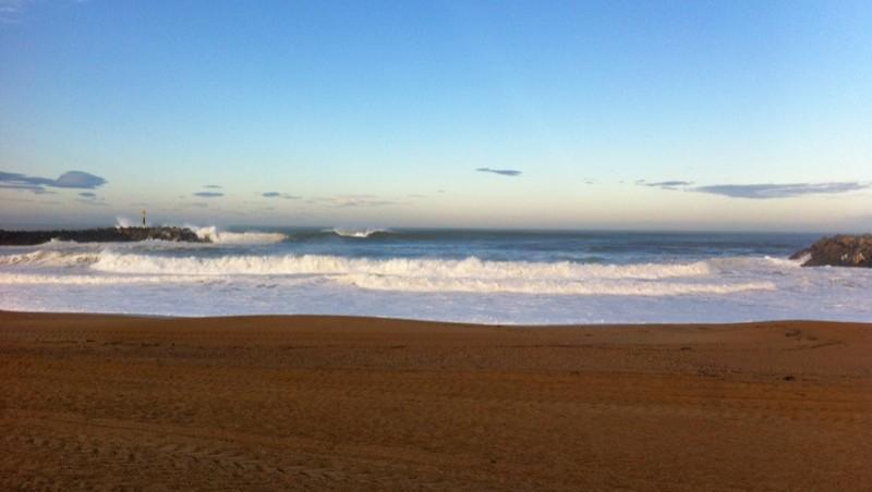 wave report Anglet La Barre - France (64) 2014-10-17 09:00:00