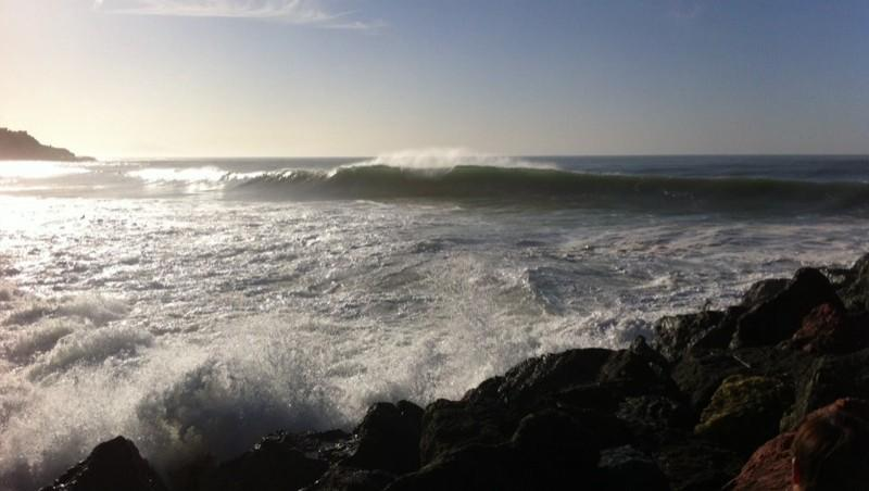 Surf report Anglet Surf Club - France (64) 2014-10-27 17:00:00