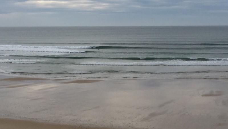 Surf report Le Porge - France (33) 2014-11-28 14:00:00