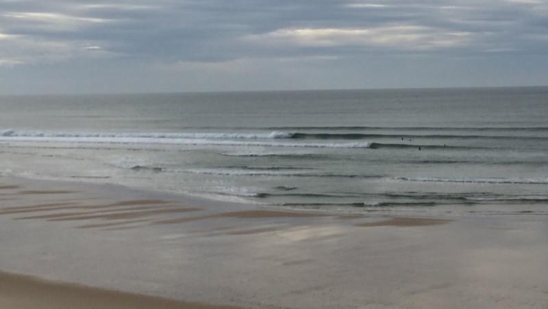 Surf report Le Porge - France (33) 2014-11-28 14:00:00