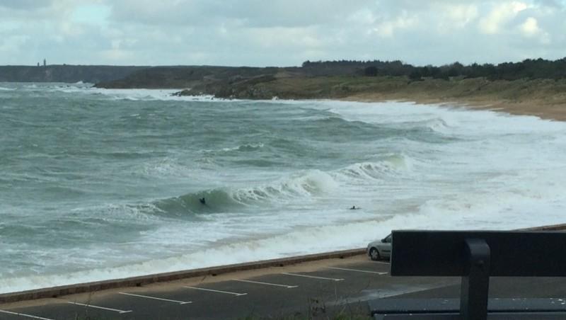Surf report Cap Frehel (Poori) - France (22) 2014-12-27 13:00:00