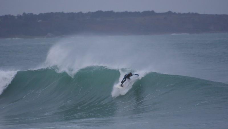 Surf report Cap Frehel (Poori) - France (22) 2014-01-05 10:00:00