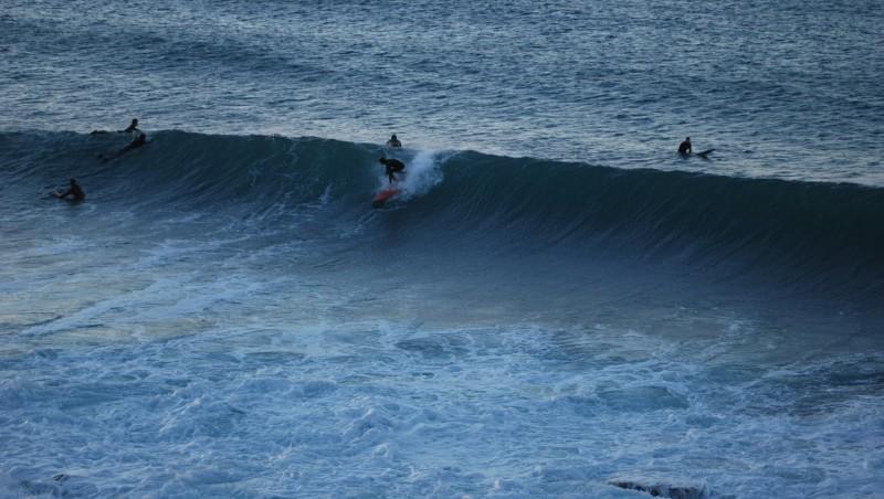 Surf report L'Arquet - France (13) 2014-01-05 09:00:00