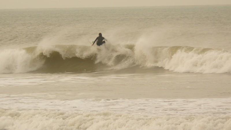 Surf report Le Lizay - France (17) 2014-01-12 13:00:00