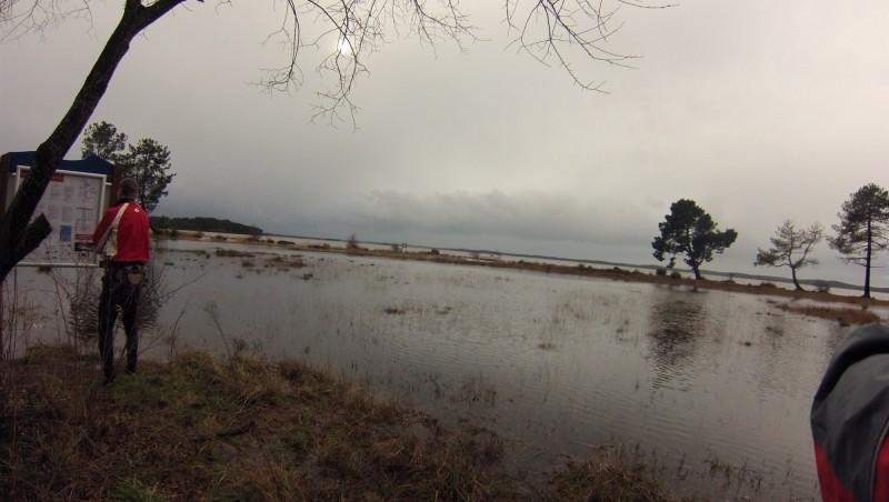 Wind report Lacanau Lac - France (33) 2014-02-01 14:00:00