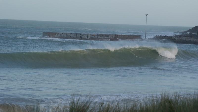 Surf report Cap Frehel (Poori) - France (22) 2014-02-02 09:00:00