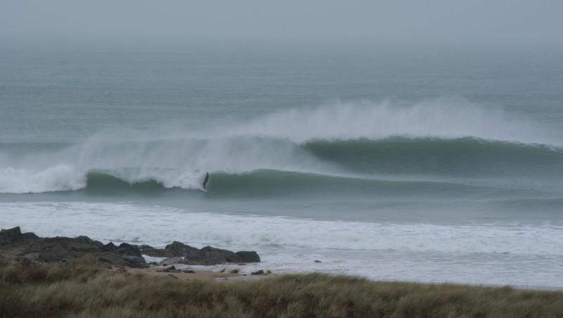 Surf report Cap Frehel (Poori) - France (22) 2014-02-06 11:00:00