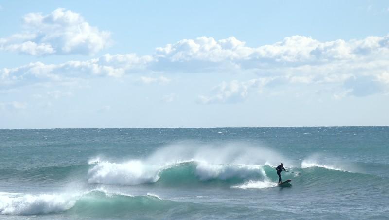 Surf report Sausset-les-Pins - L'Hermitage - France (13) 2014-03-01 14:00:00