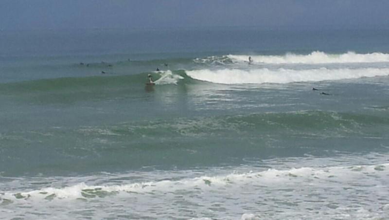 Surf report Lacanau Océan - La Nord - France (33) 2014-04-21 12:00:00