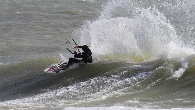 Wind report La Tranche sur Mer - La jetée - France (85) 2014-04-28 15:00:00