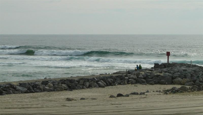 Surf report Mimizan - Plage Garluche - France (40) 2014-06-03 18:00:00