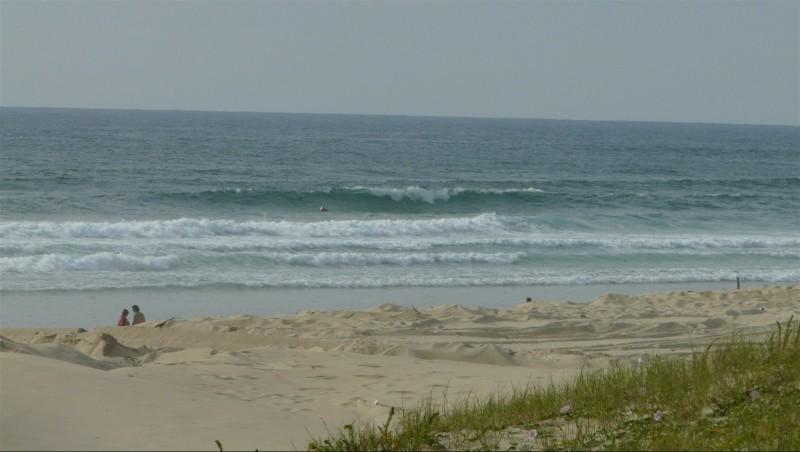 Surf report Mimizan - Plage Garluche - France (40) 2014-06-03 18:00:00