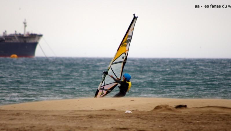 Wind report Port-la-Nouvelle - Vieille Nouvelle - France (11) 2014-06-04 12:00:00