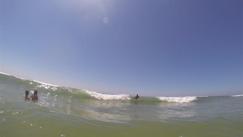 Surf report Le Porge - France (33) 2014-06-07 15:00:00