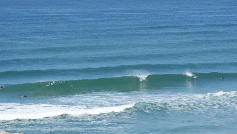 Surf report Quiberon - Port Rhu - France (56) 2014-06-11 11:00:00