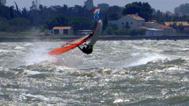 Wind report Le Barcarès - Cap Coudalère  - France (66) 2014-06-14 12:00:00