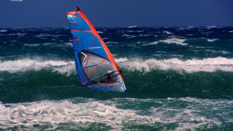Wind report Le Barcarès - l'Embouchure Agly - France (66) 2014-06-28 12:00:00