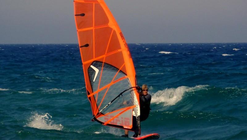 Wind report Saint-Cyprien - Plage de l'Art - France (66) 2014-07-17 12:00:00