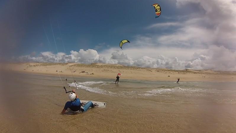 Wind report Le Porge - France (33) 2014-07-20 12:00:00