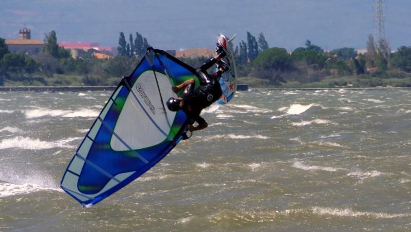 Wind report Le Barcarès - Cap Coudalère  - France (66) 2014-07-21 12:00:00