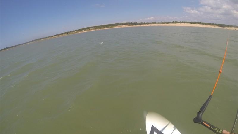 Wind report La Palmyre - Bonne-Anse - France (17) 2014-07-22 14:00:00