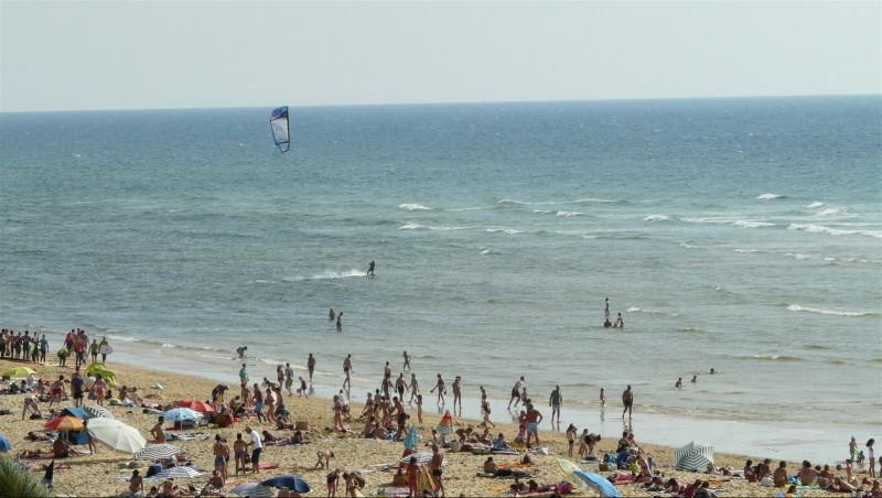 Wind report Mimizan - Plage Garluche - France (40) 2014-07-22 18:00:00