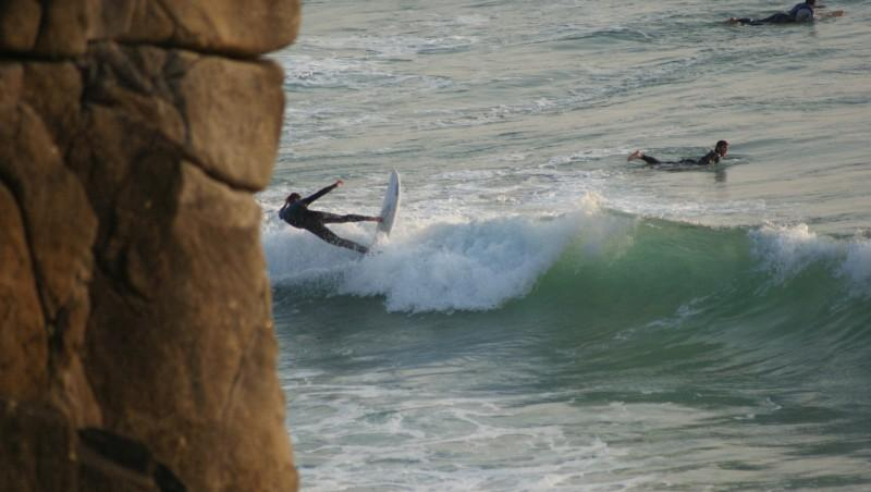 Surf report Quiberon - Port Rhu - France (56) 2014-07-23 19:00:00