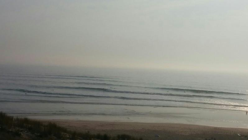 Surf report Le Porge - France (33) 2014-07-24 20:00:00