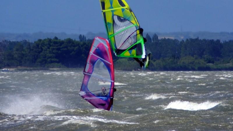 Wind report Le Barcarès - Cap Coudalère  - France (66) 2014-07-30 12:00:00