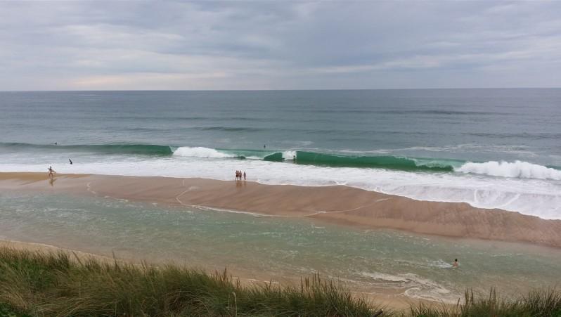Surf report Cap de l'Homy - France (40) 2014-08-12 19:00:00