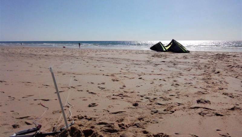 Wind report Le Porge - France (33) 2014-08-17 19:00:00